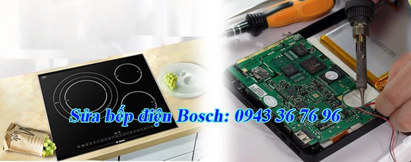 sửa bếp điện Bosch
