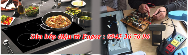 Sửa bếp điện từ Fagor