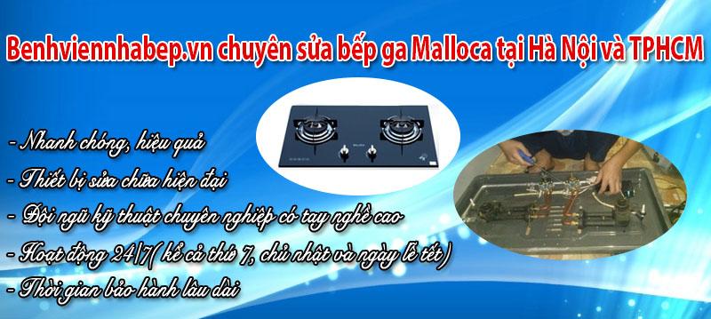 sửa bếp ga Malloca ở tại Hà Nội và Hồ Chí Minh